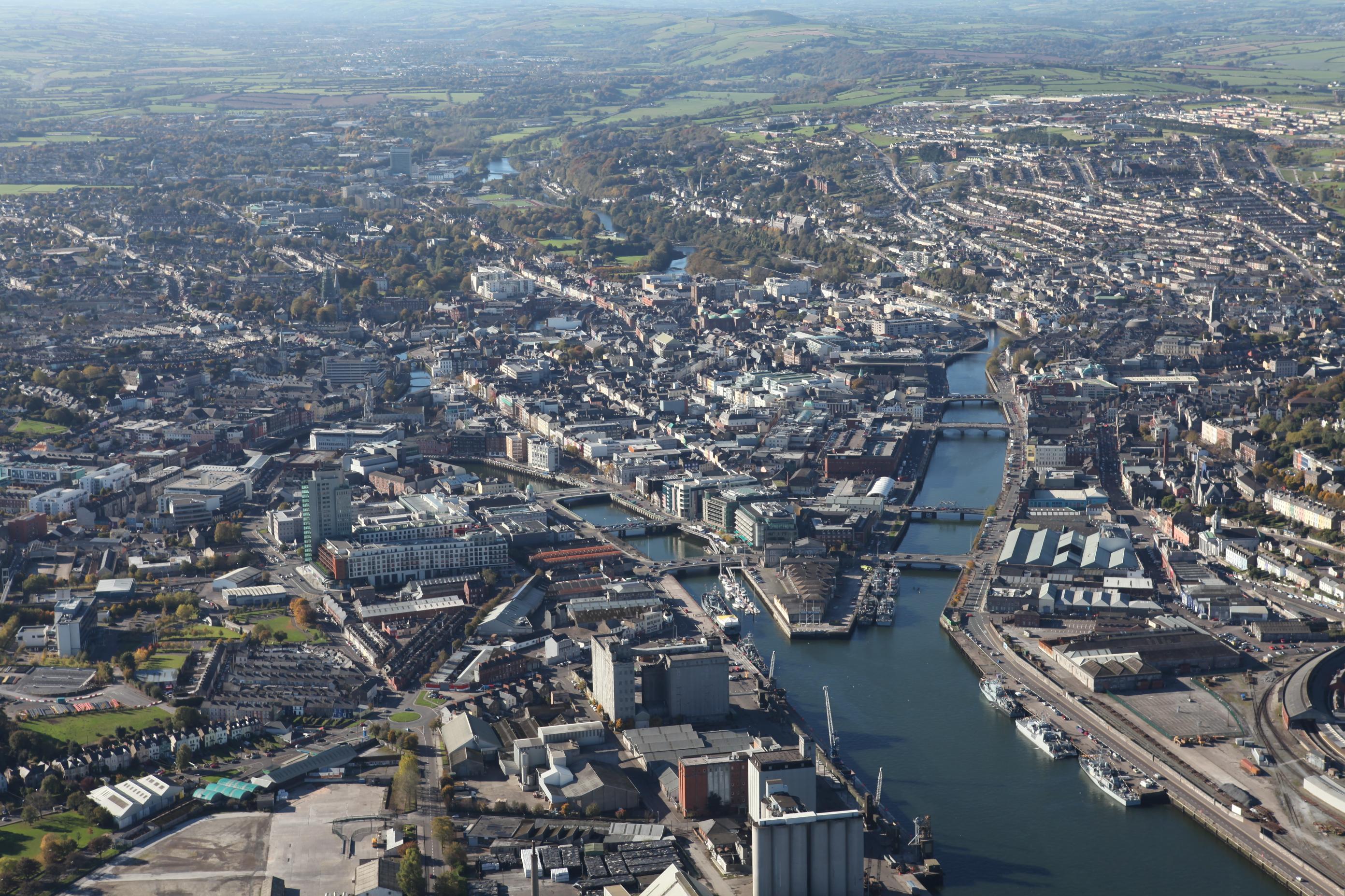 Old photos of cork ireland Aerial photos of Ireland CORK DUBLIN LIMERICK